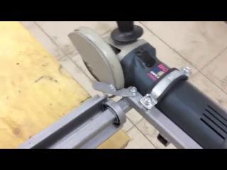 Как сделать углорез по металлу своими руками