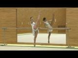 Уроки художественной гимнастики от Алины Кабаевой-Гимнастика &amp Экстри